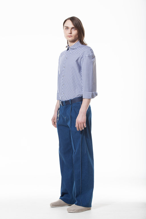 Denim trousers UN01