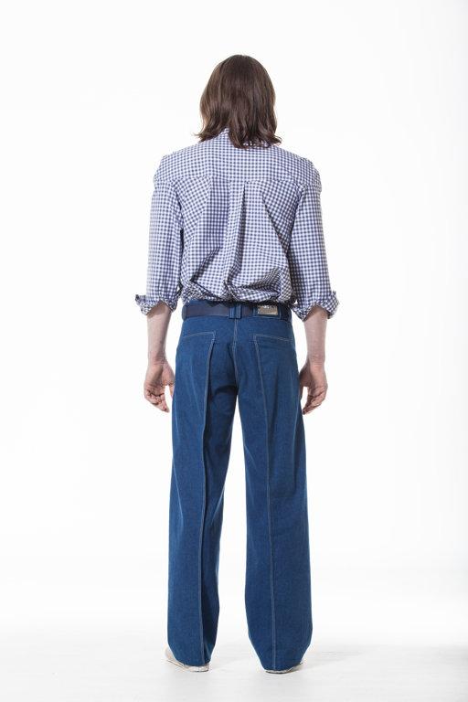 Denim trousers UN01